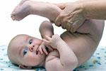 Full body baby massage