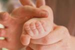 Baby massage at dysplasia