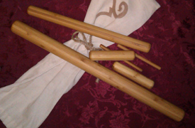 Warm bamboo