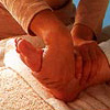 Foot reflex zone massage